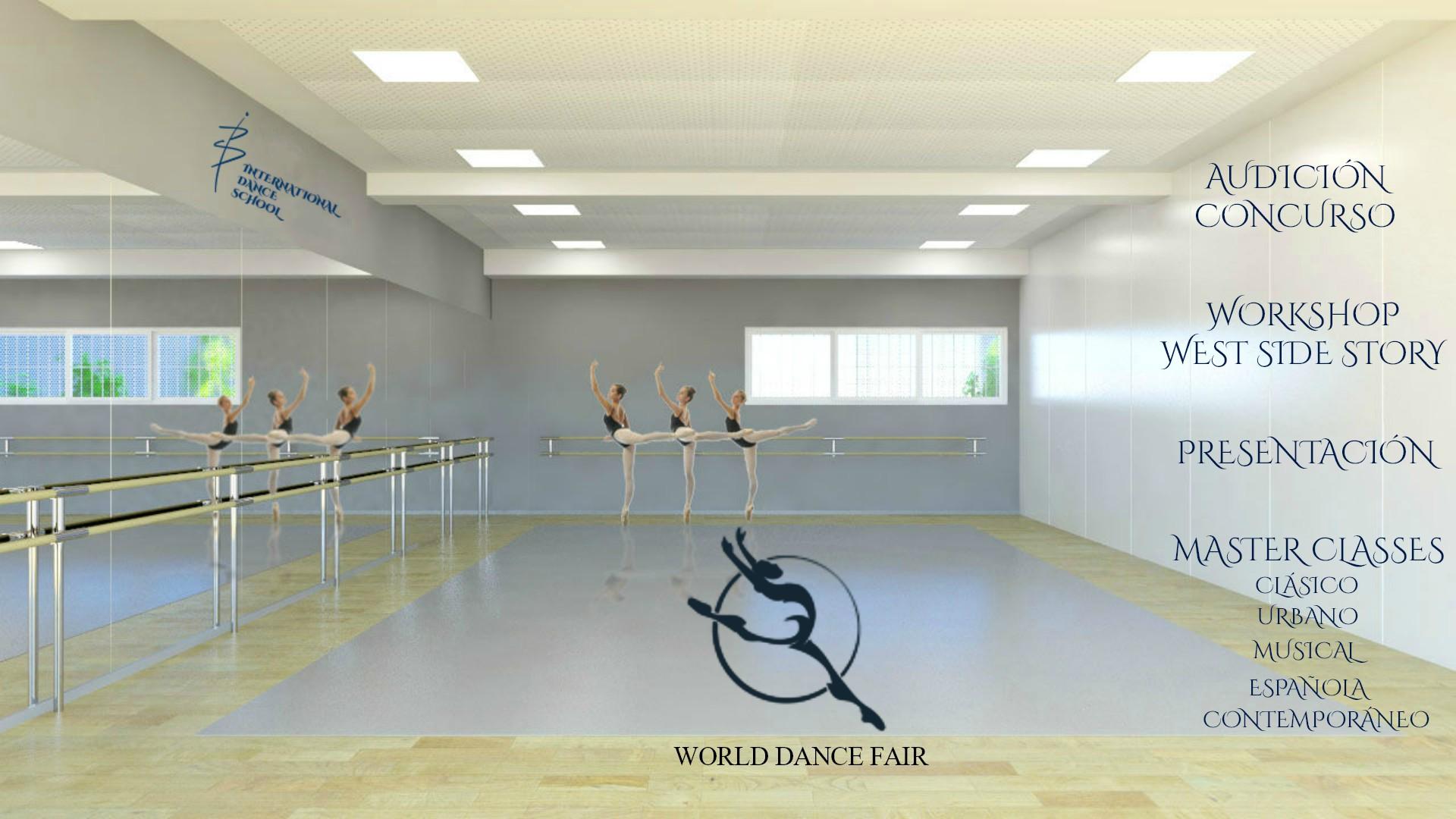 world dance fair 2018 danza baile urban clásica española contemporánea musical international dance school alicante escuela