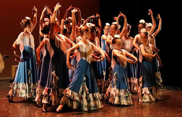 danza española niñas línea lúdica escuela internacional de danza international dance school alicante