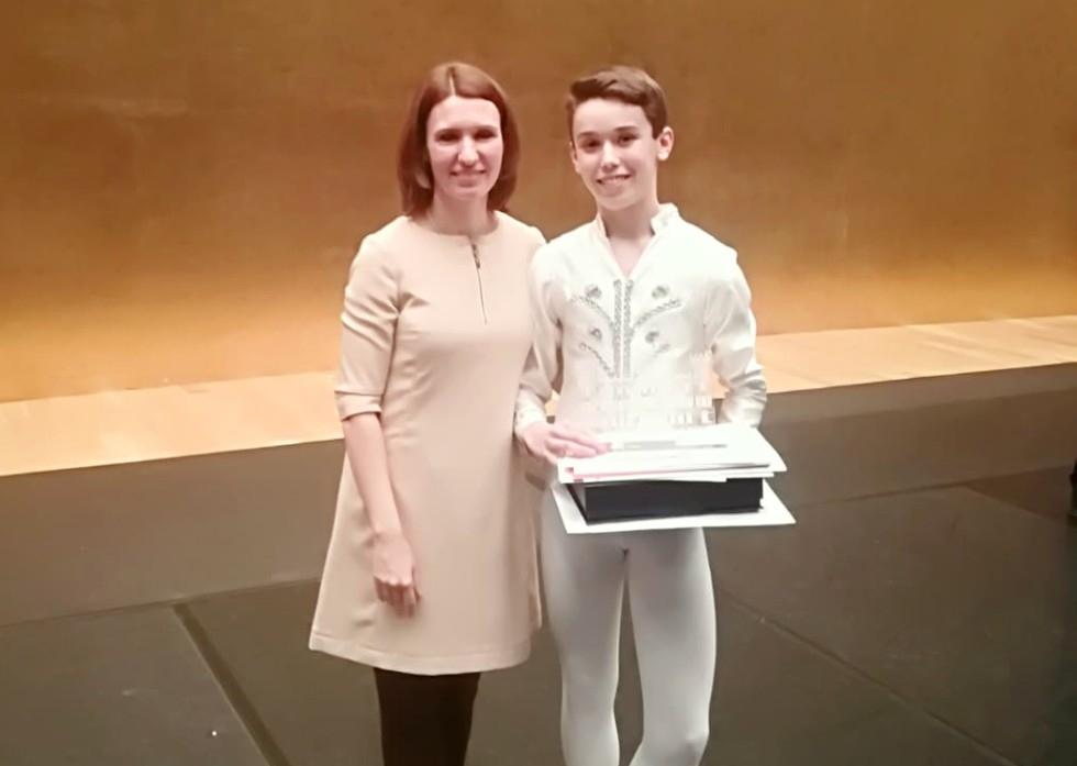 martín díaz álvarez danza clásica anna generalova escuela internacional international dance school alicante premio