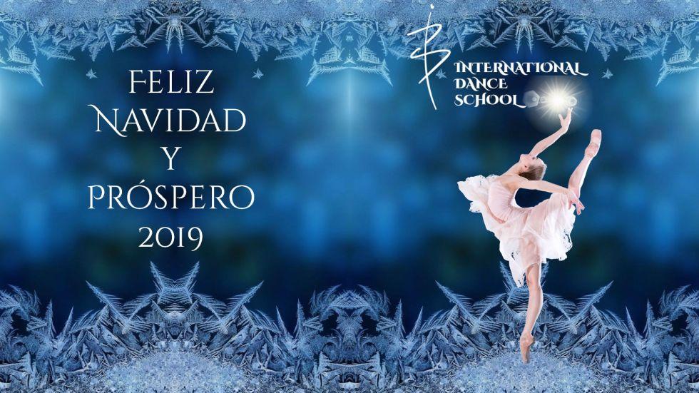 feliz navidad danza baile urban clásica española contemporánea teatro musical international dance school alicante 2018