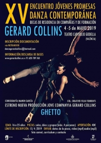 encuentro jovenes promesas gerard collins danza contemporanea escuela de danza internacional alicante 2019