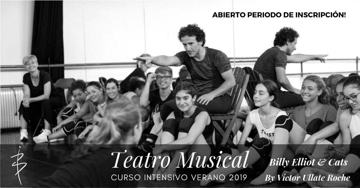 curso intensivo teatro musical by victor ullate roche escuela internacional international dance school alicante verano anuncio