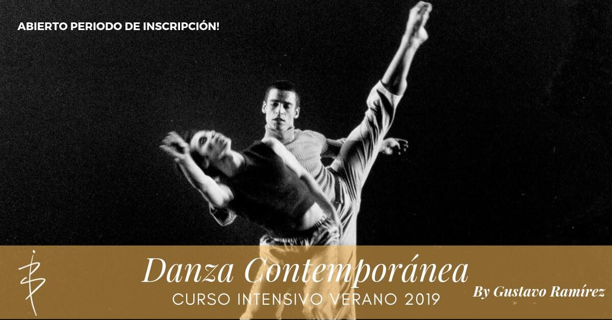 gustavo ramirez curso intensivo ballet danza contemporanea escuela internacional dance school alicante anuncio
