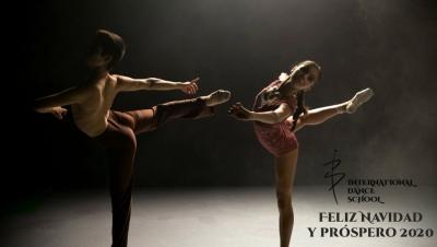 feliz navidad danza baile urban clasica española contemporanea teatro musical international dance school alicante 2019