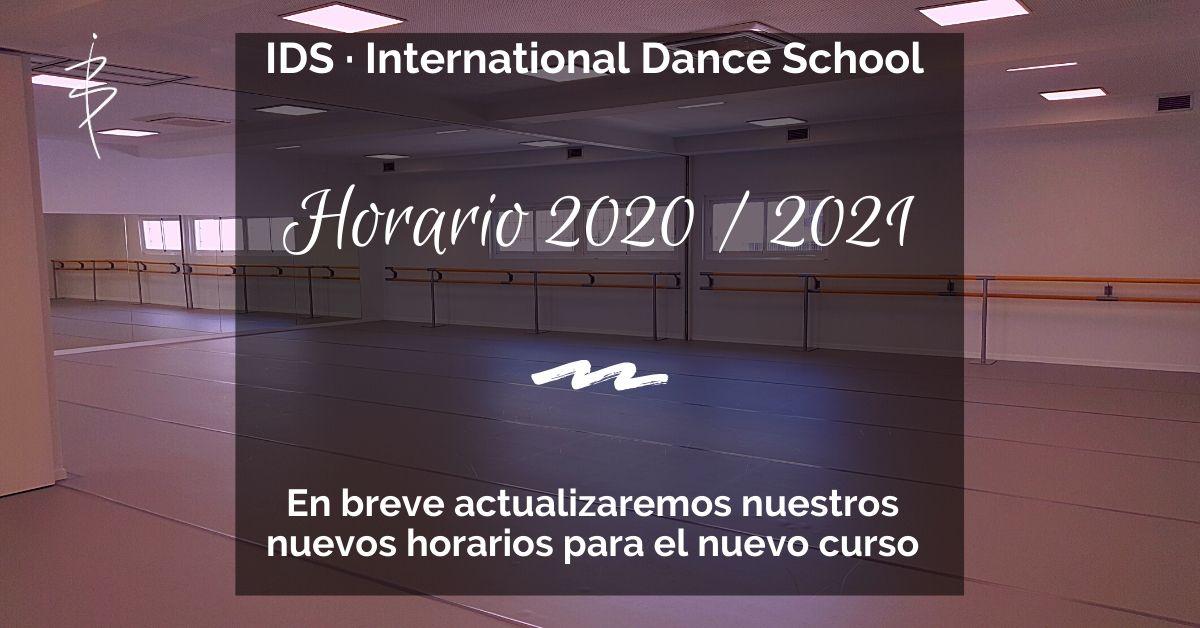 horarios danza moderna escuela internacional de danza international dance school alicante 2018 2019