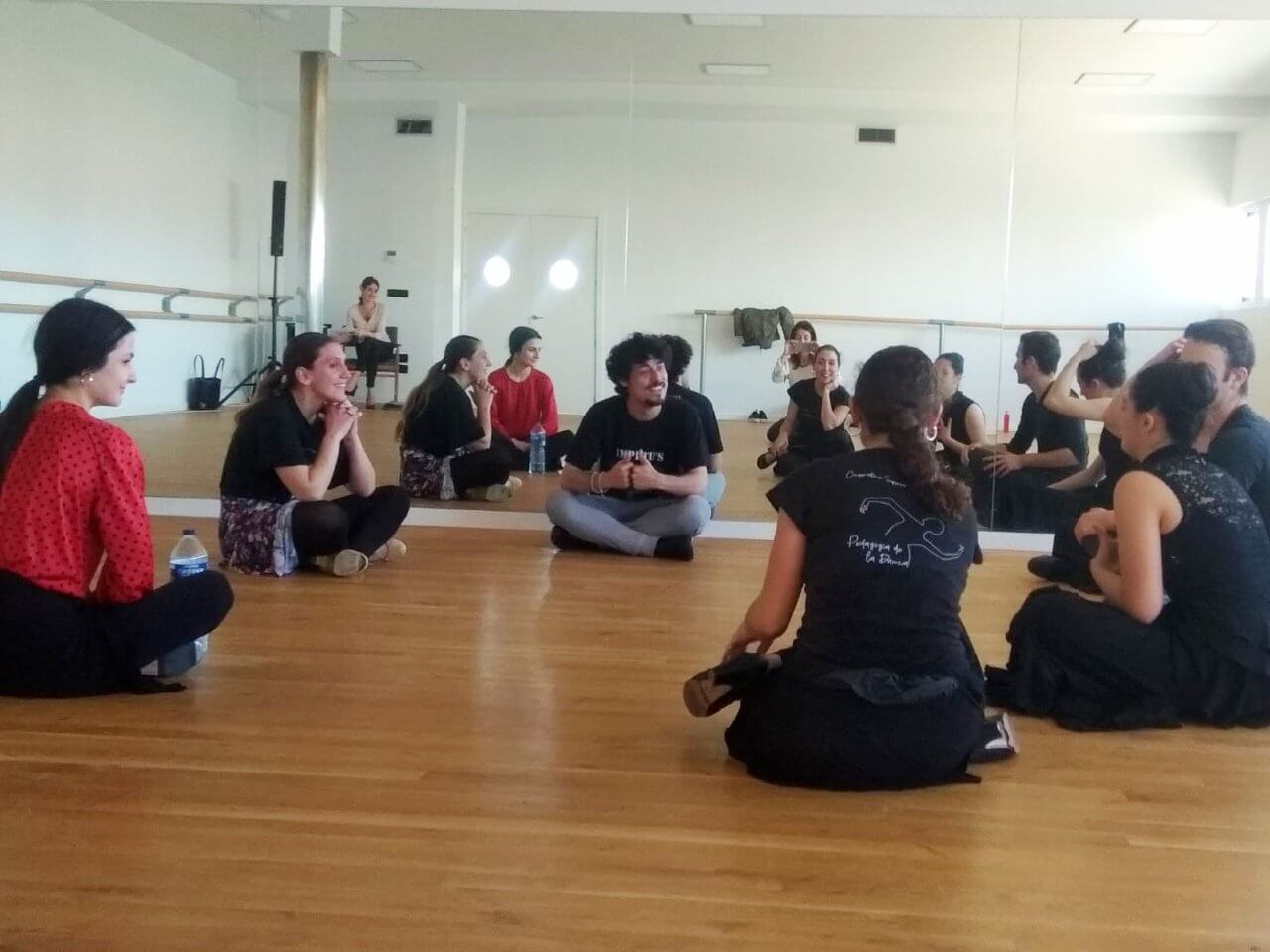 jesus carmona master class flamenco charla grupo international dance school ids alicante