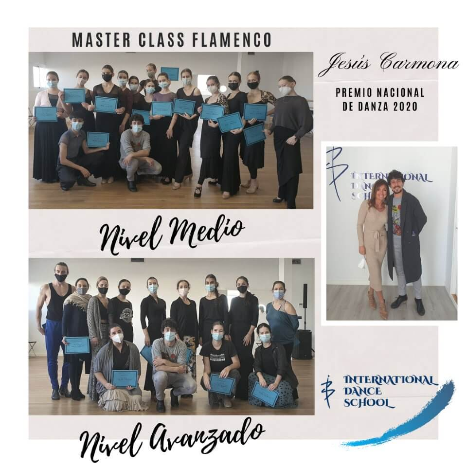 jesus carmona master class flamenco diplomas international dance school ids alicante