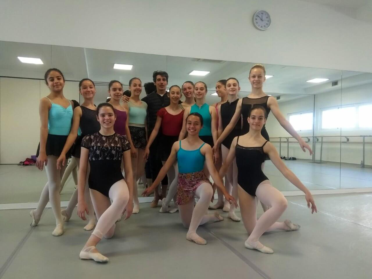 joaquin de luz master class danza clasica alumnos international dance school ids alicante
