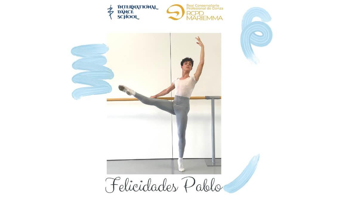 pablo carrascosa admision real conservatorio profesional de danza clasica mariemma international dance school ids alicante