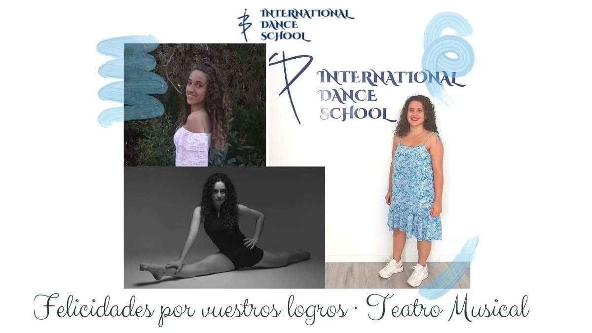 elena maria clara teatro musical admision carreras profesionales international dance school ids alicante